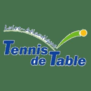 logo du comité de Loire Atlantique de tennis de table