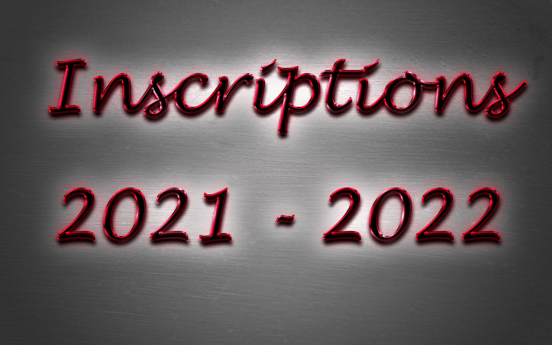 Read more about the article Inscriptions 2021-2022